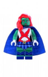 Ms Martian - Custom Designed Minifigure